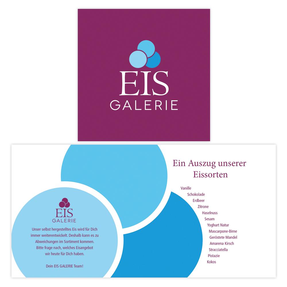 Eis Galerie – Eiskarte