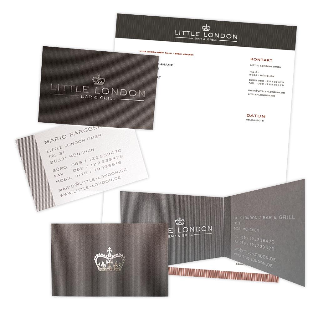 LITTLE LONDON / BAR & GRILL – Geschäftsausstattung